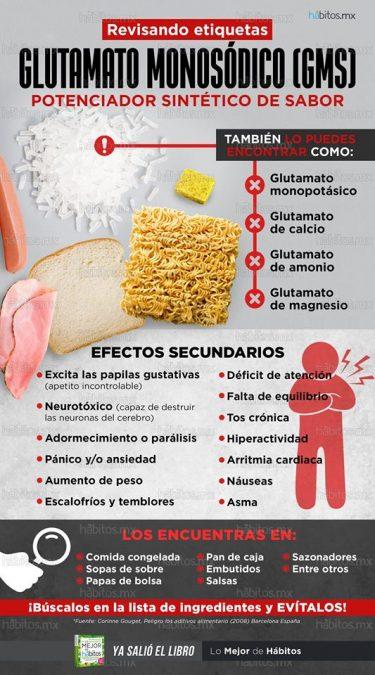infografia glutamato monosodico gms e621