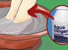 Como eliminar el hongo de los pies
