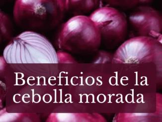 Benedicios de la cebolla morada